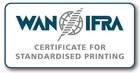 Certificat de la WAN-IFRA pour une impression normalisée